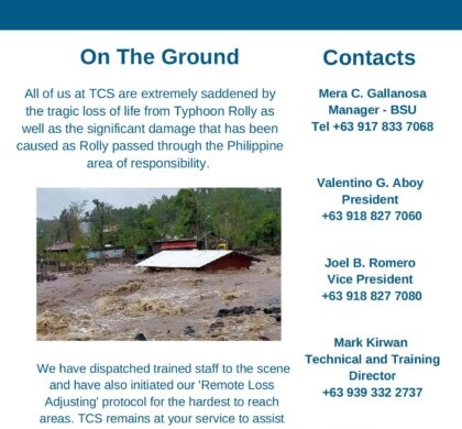 TCS Update – Typhoon Rolly